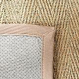 Safavieh Fiber Area Rug, 9' x 12', Natural/Grey