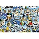 Clairefontaine 812890C - Vade de sobremesa (60 x 40 cm), diseño de cómics, color azul