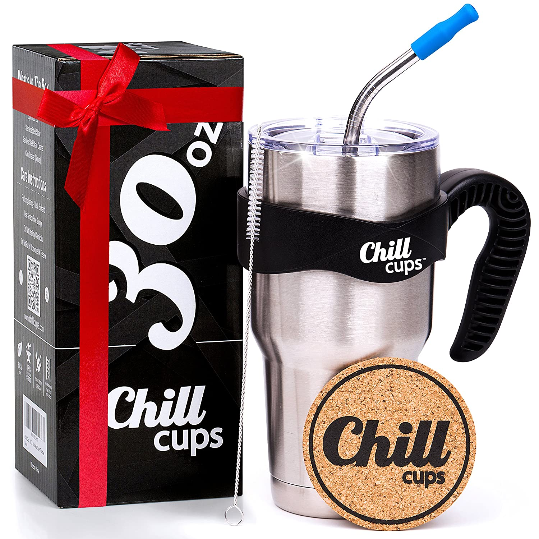 Amazon Insulated Travel Coffee Thermal Mug 30 oz Double Wall