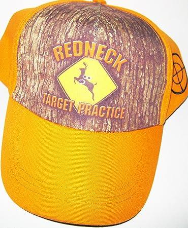 ed2aa1bd3881e Amazon.com   Redneck Target Practice Camouflage Adjustable Hat ...