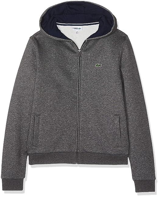 c4f35bd8e Lacoste Boy s Sports Hoodie  Amazon.co.uk  Clothing