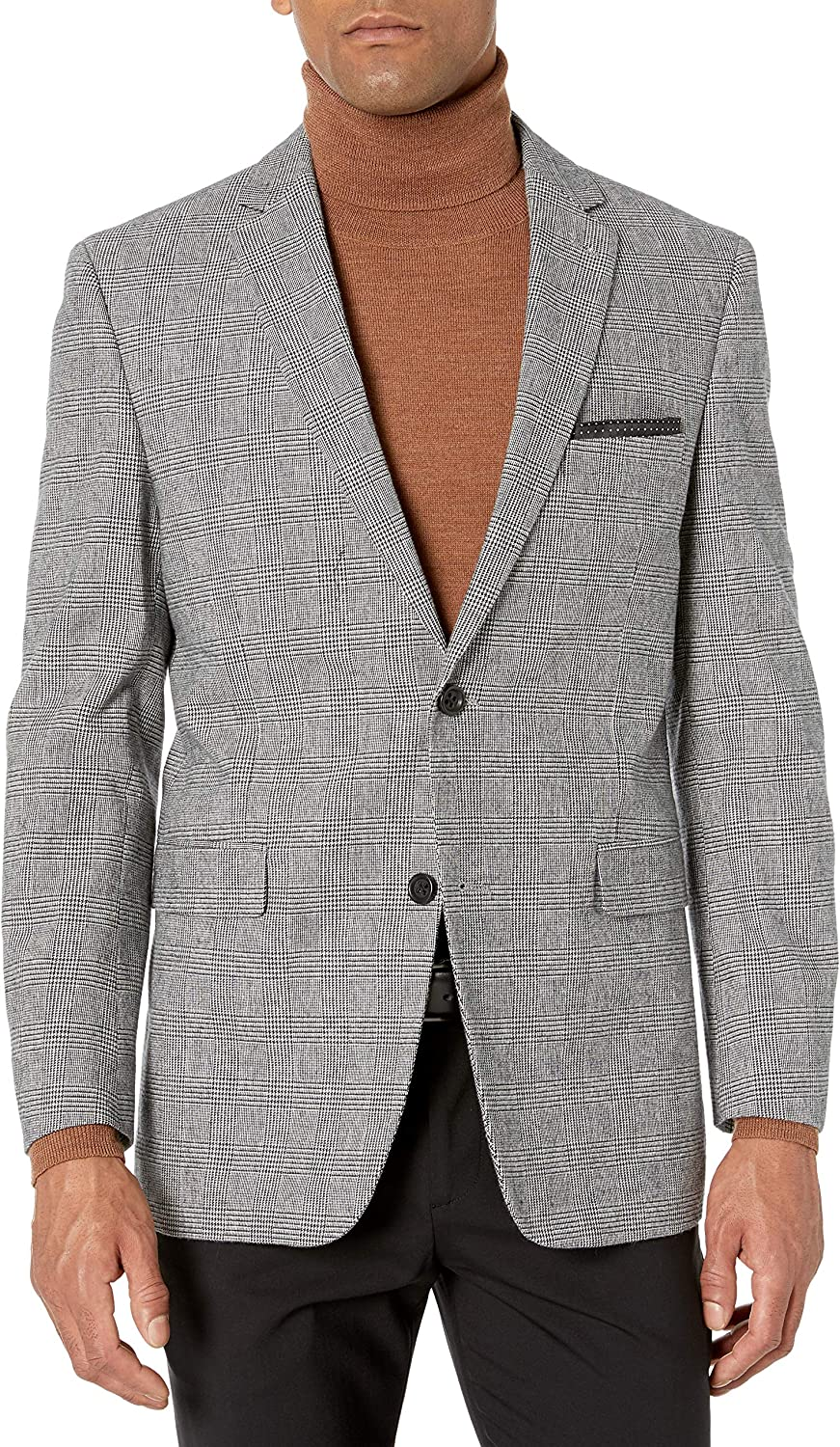 U.S. Polo Assn. Men's Updated Modern Side Vent Sportcoat