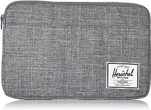 Herschel Anchor Sleeve for MacBook/iPad, Raven Crosshatch, 12-Inch