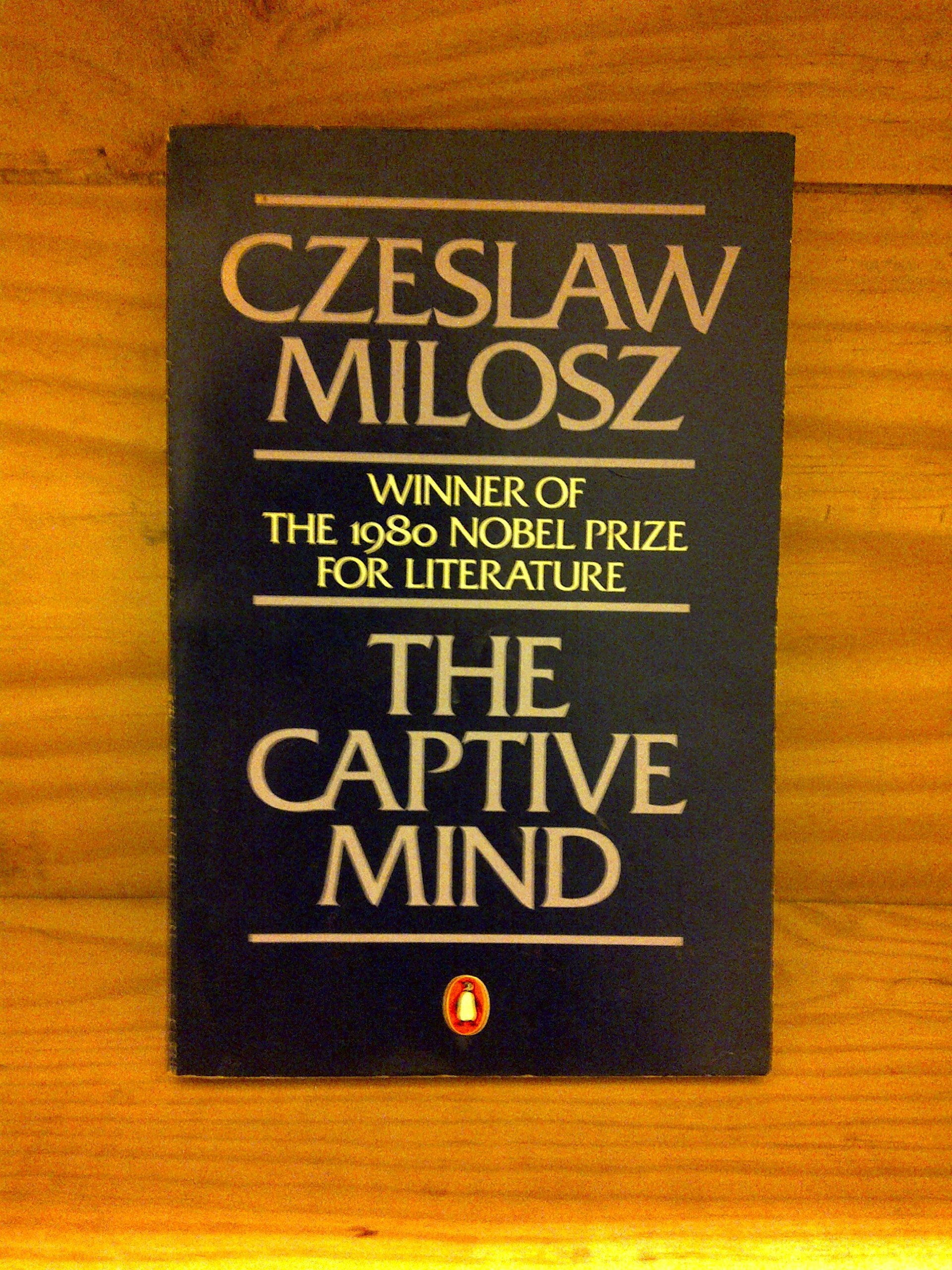 czeslaw milosz the captive mind