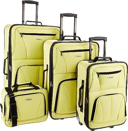 Rockland Fully Lined Luggage Set