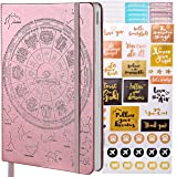 July 2020-2021 Law of Attraction Planner - Personal Journal & Week Planner & Goal Planner & Organizer (A5 Size) with Pen Holder + Bonus Stickers