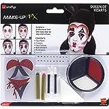 Smiffy's - Kit del maquillaje, reina de corazones (44409)