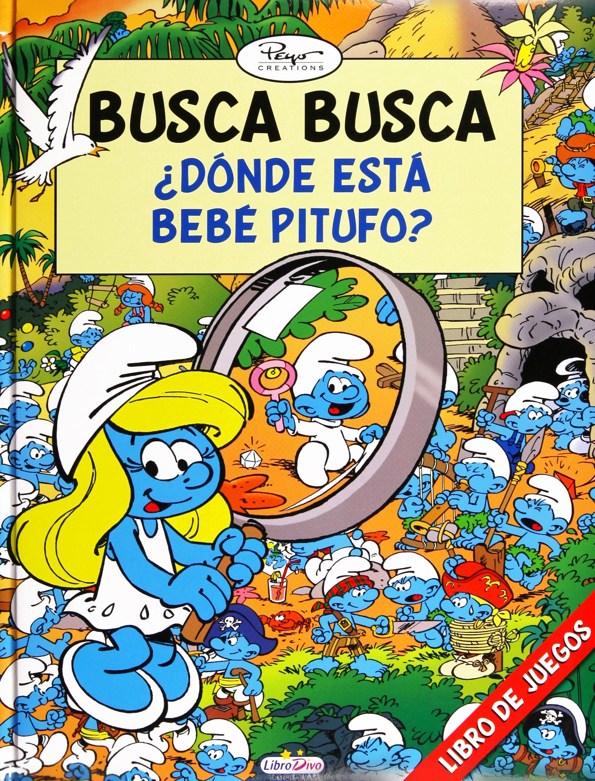 LOS PITUFOS BUSCA BUSCA ¿ DÓNDE ESTÁ BEBÉ PITUFO ?: 4