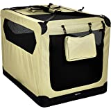 AmazonBasics Premium Folding Portable Soft Pet Dog Crate Carrier Kennel