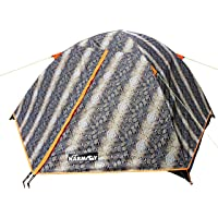 NARMAY Snakeskin Camping Backpacking Two Person Dome Tent-220 x 152 x 110 cm