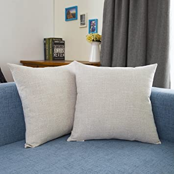 Amazon.com: Kevin - Funda de almohada de lino transpirable ...