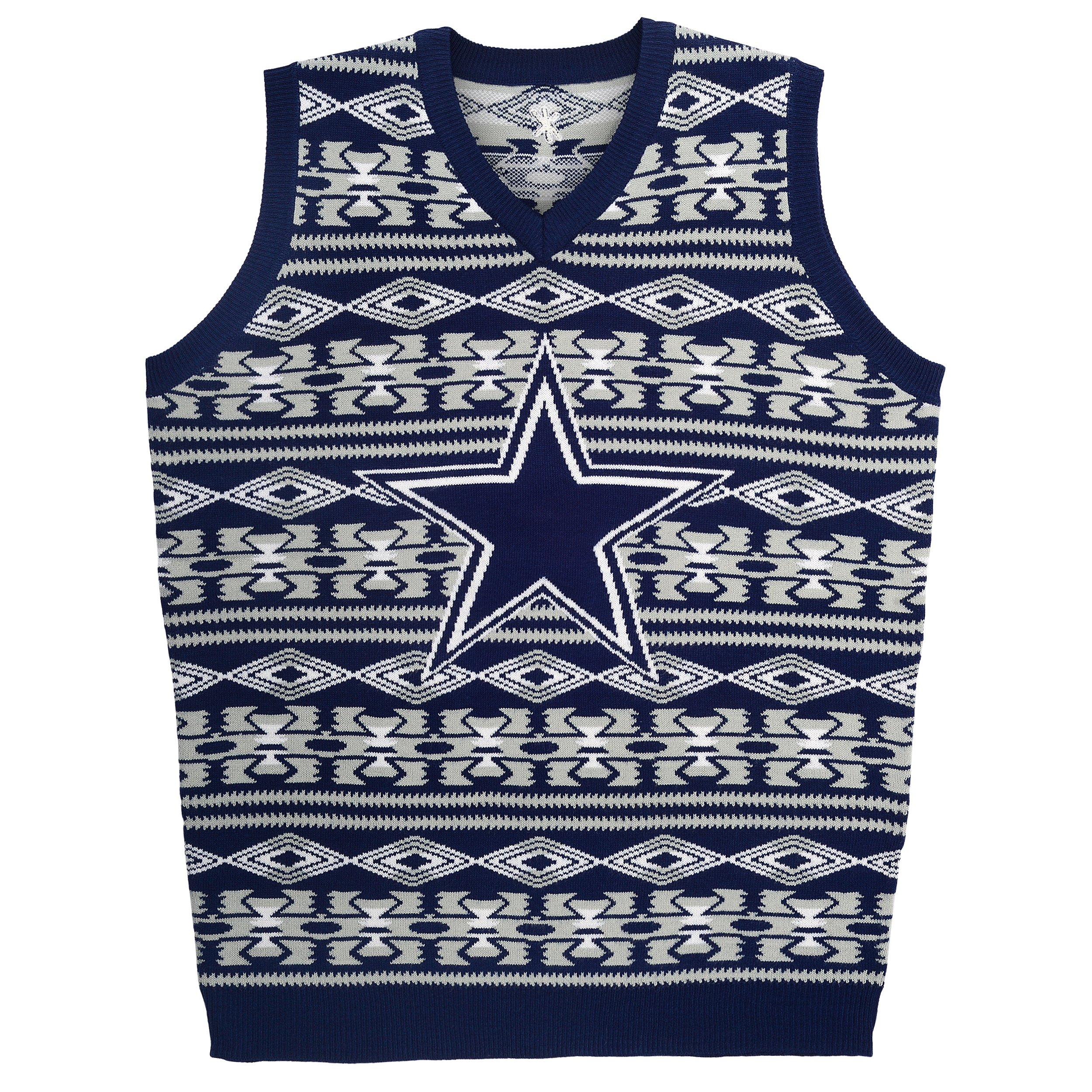 NFL Dallas Cowboys Ugly Sweater, Aztec