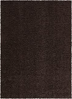 product image for Area Rugs, Maples Rugs [Made in USA][Catriona] 7' x 10' Non Slip Padded Large Rug for Living Room, Bedroom, and Dining Room - Brown Suede
