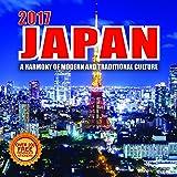 2017 Japan Calendar - 12 x 12 Wall Calendar - 210 Free Reminder Stickers