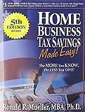 Home Business Tax Savings MADE EASY!