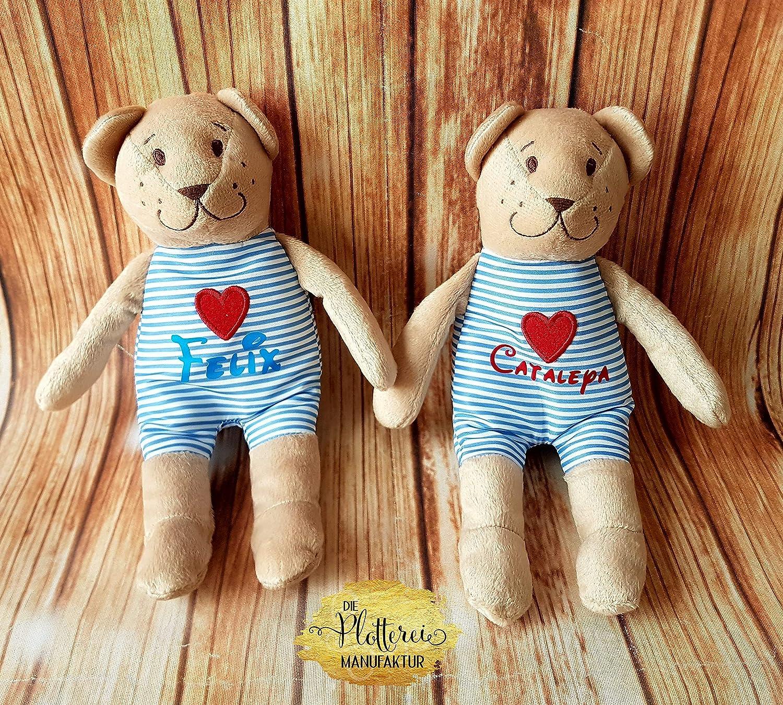 Teddybär Kuscheltier Name personalisiert