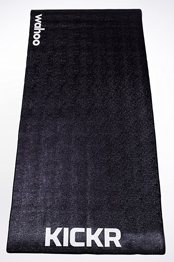 Wahoo KICKR Trainning Mat, color negro, 91.4 x 198.1 cm: Amazon.es ...