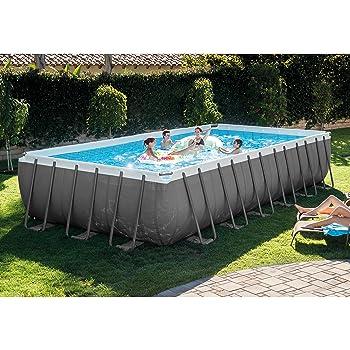 Intex Ultra Frame Rectangular Pool Set U2013 24ft X 12ft X 52in