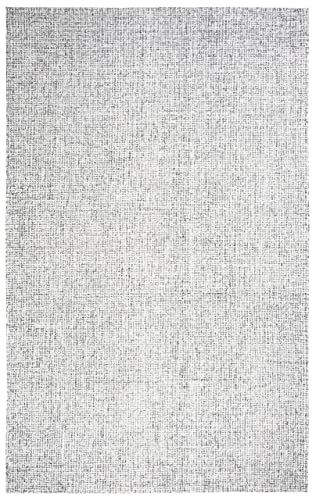 Rizzy Home Brindleton Collection Wool Area Rug, 2 6 x 10 , Gray Gray Rust Blue Solid