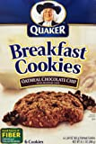 Quaker Chewy Breakfast Cookies Oatmeal Chocolate Chip, 10.1 Ounce