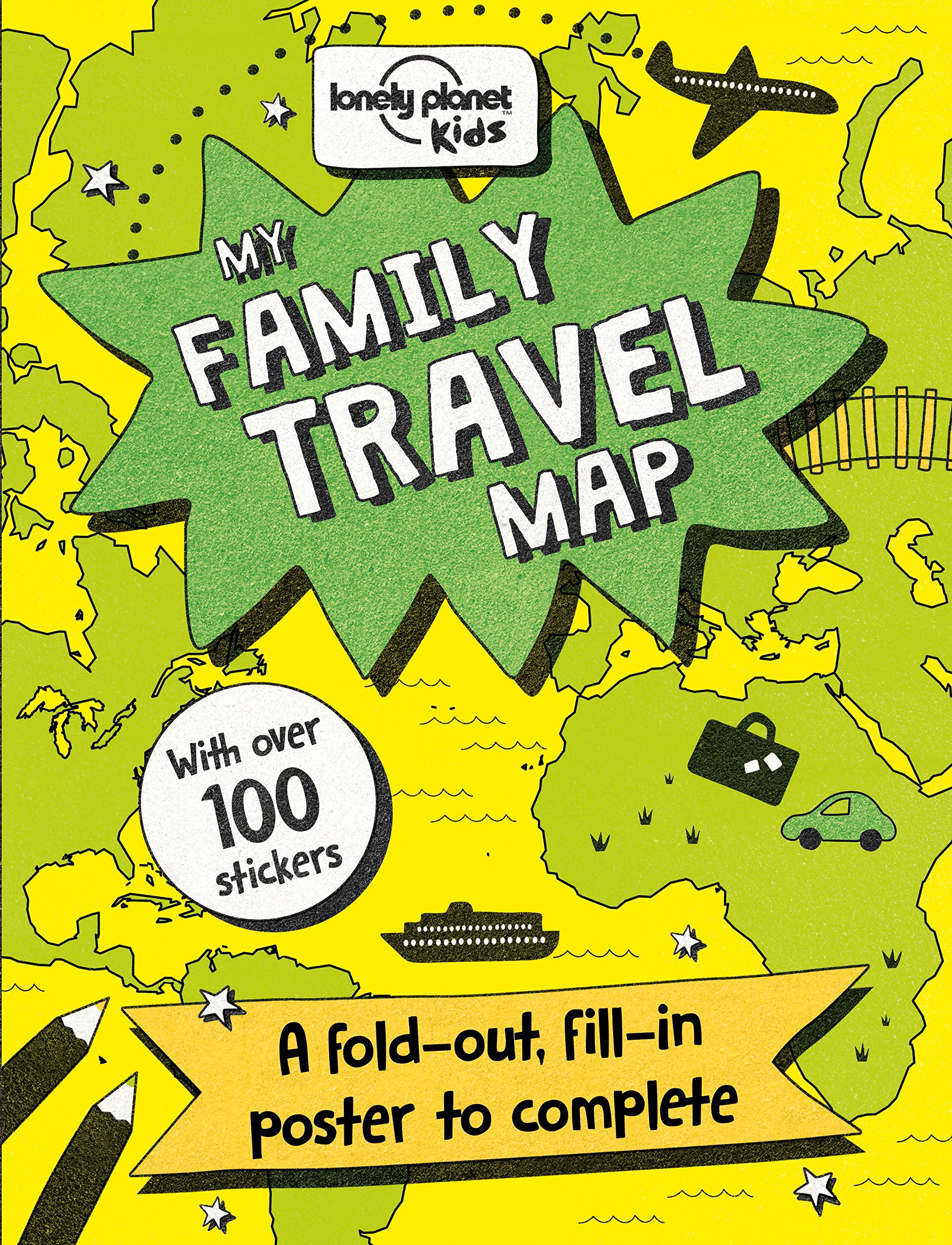 My Family Travel Map (Lonely Planet Kids)