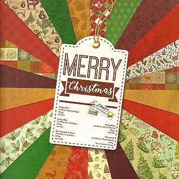 Bastelpapier Vintage scrapbooking papier vintage motivblock 19 weihnachten