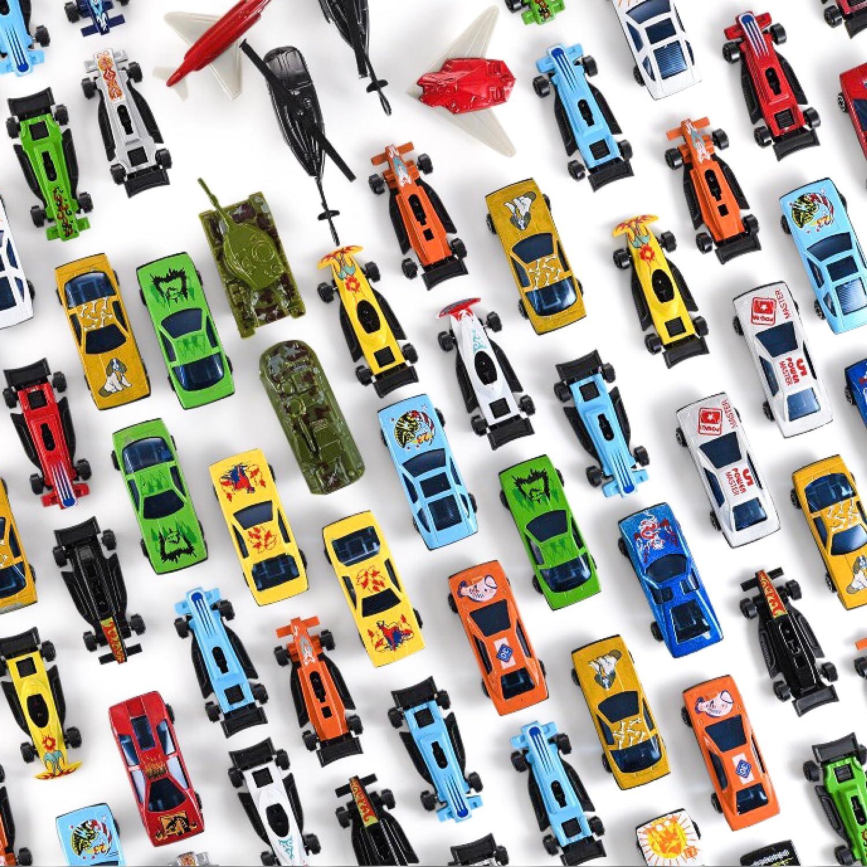 F/ête Voitures Jouet Morceau de m/étal Pc 100 Prextex ou G/âteaux voitures jouets pour enfants