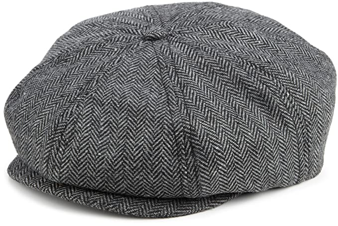 Mens 1920s Style Hats and Caps Brixton Mens Brood Snap Cap $40.95 AT vintagedancer.com
