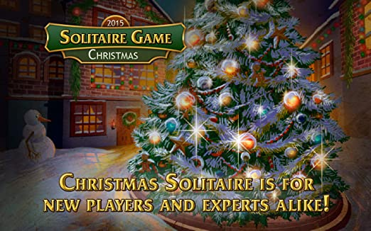 amazoncom solitaire game christmas appstore for android - Solitaire Christmas