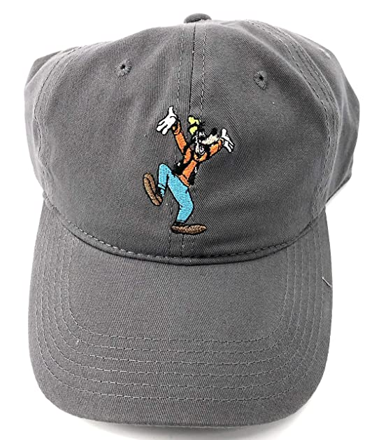 Image Unavailable. Image not available for. Color  Disney Adult Goofy  Character Grey Baseball Cap Hat e69f4bb0914