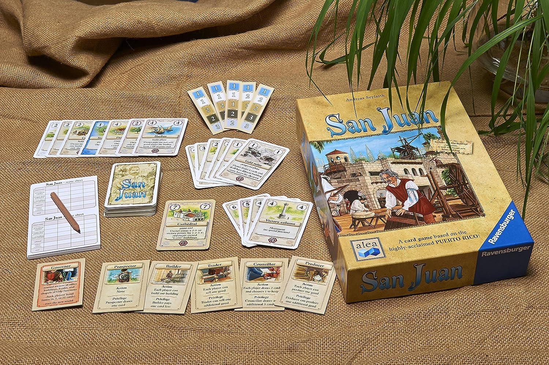 Ravensburger Juego de Cartas San Juan: Amazon.es: Juguetes y juegos