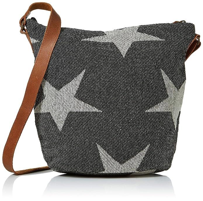 3d50981ea16 Fat Face Women's Woven Star Tia Cross-Body Bag Black (Black): Amazon.co.uk:  Shoes & Bags