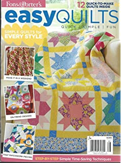 Fons & Porters Easy Quilts Magazine Winter 2016