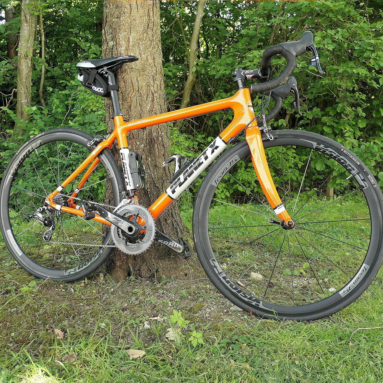 80cm Black Burg Wachter 80cm Hardened Steel Lightweight Folding Combination Bike Lock
