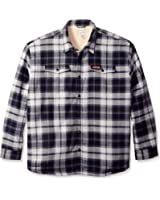 Field & Stream Men's Big-Tall P508X Plaid Sherpa-Lined Shirt Jacket