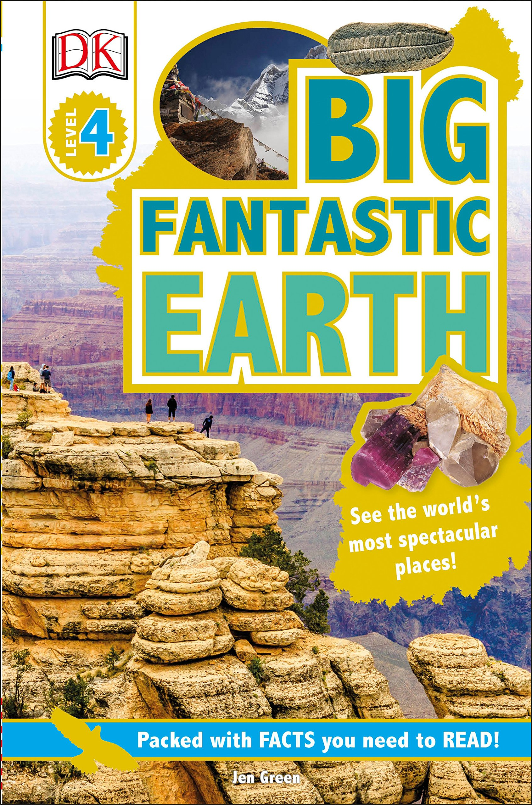 Download DK Readers L4: Big Fantastic Earth pdf epub