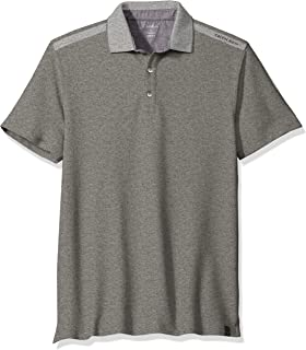 Calvin Klein - Polo de piqué sólido para Hombre con Cuello de pájaro 3fa6a6403e528