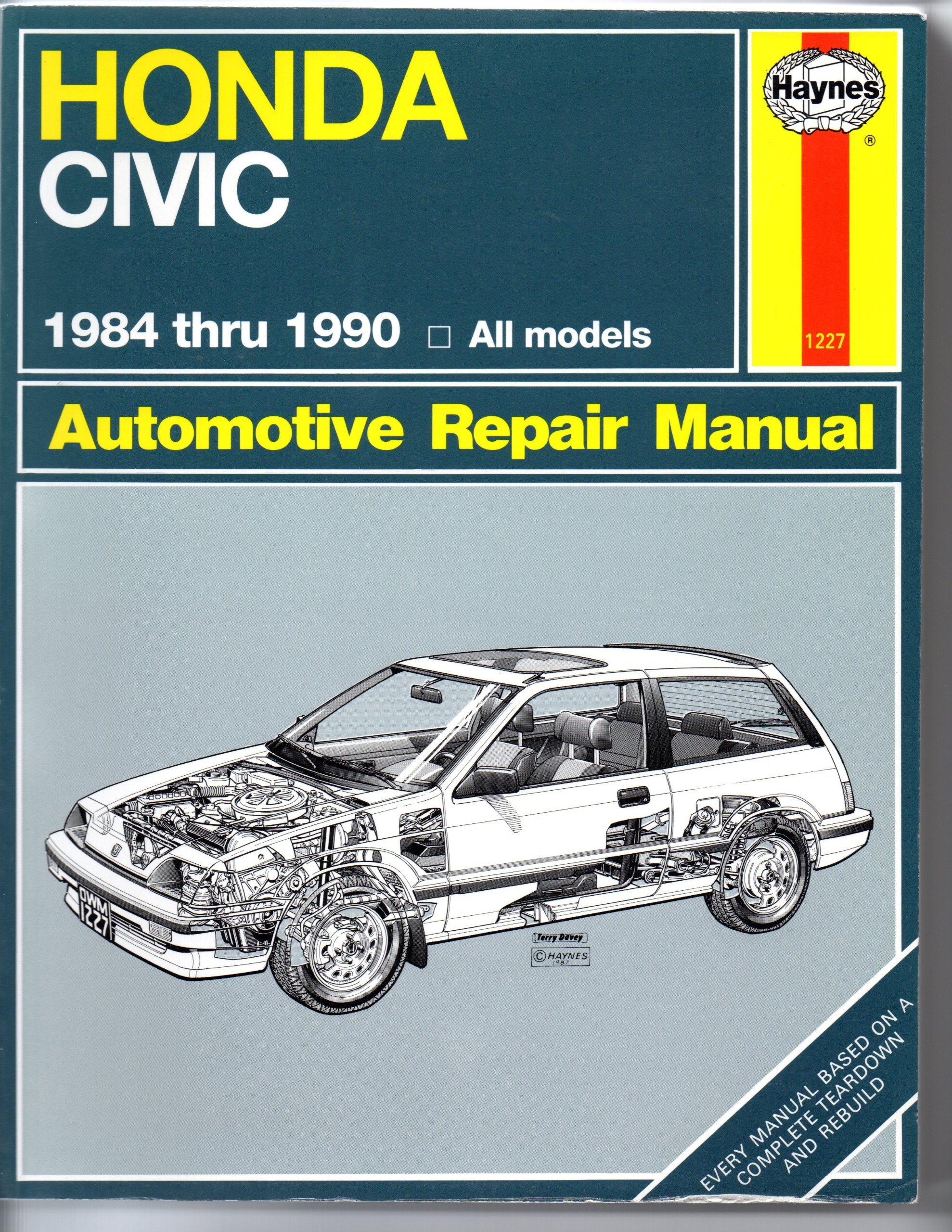 Honda Civic Automotive Repair Manual, 1984-1990: Mike Stubblefield, Robert  Maddox, John H. Haynes: 9781850107224: Amazon.com: Books