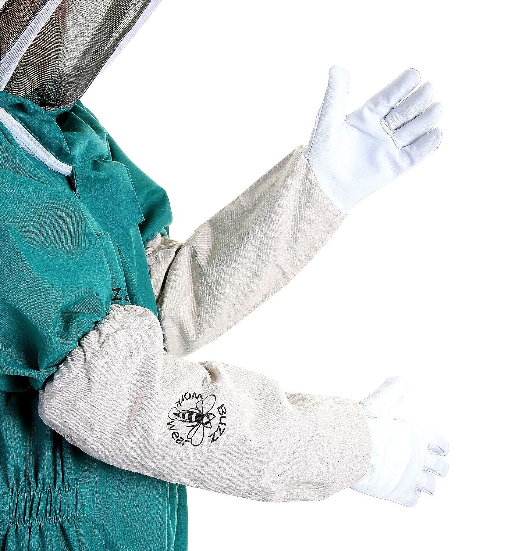 /Gr/ün Buzz Basic Imker Anzug mit Zaun Schleier und Handschuhe/