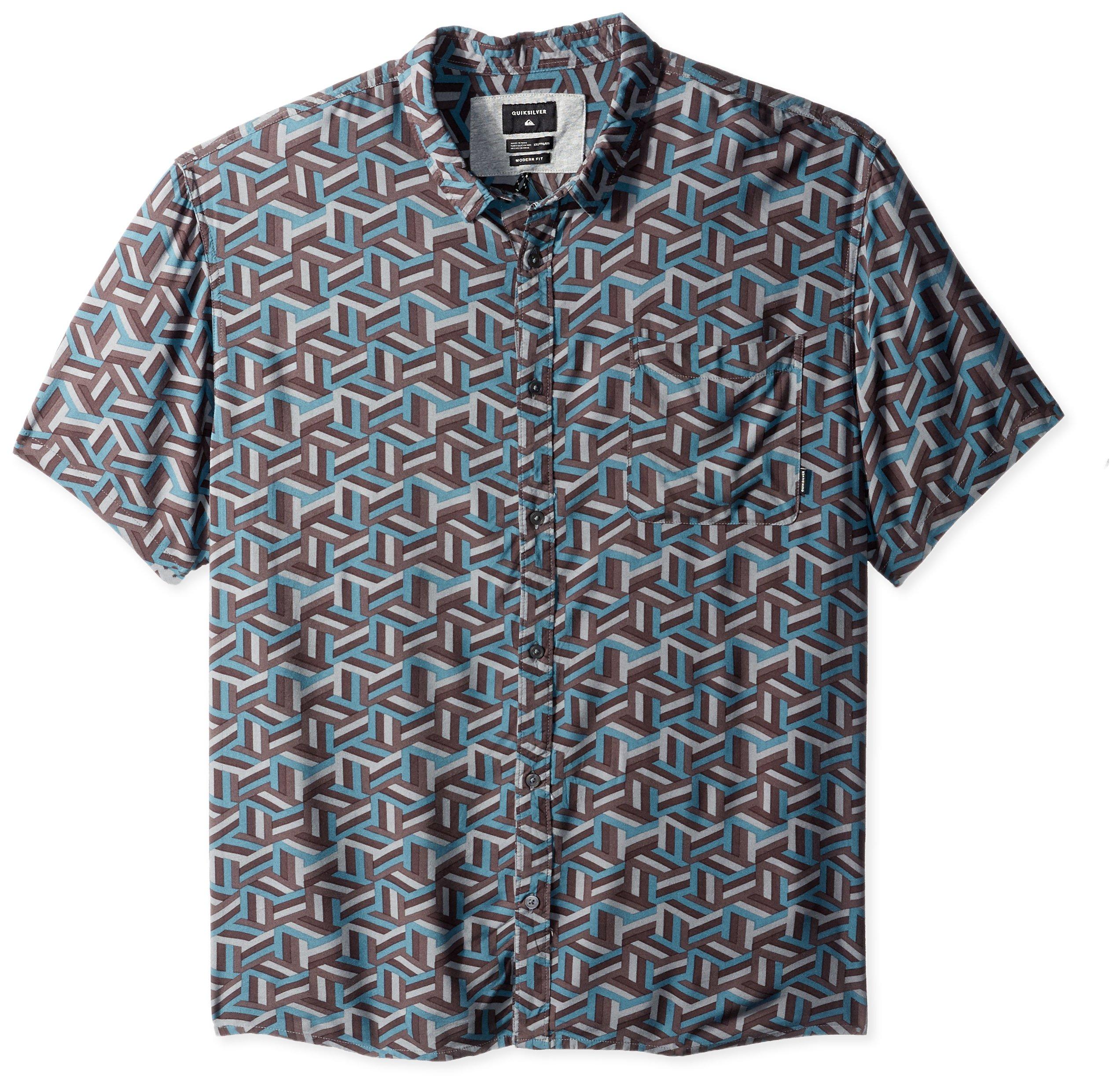 Quiksilver Men's Variable Shirt, Tapestry Chiba Variable, XL