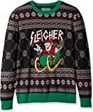 Ugly Christmas Sweater Company Men's Assorted Santa Crew Neck Xmas Sweaters