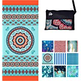 Microfiber Beach Towel for Travel - Oversized XL 78x35,72x72,63x31,71x31Inch Quick Drying, Lightweight, Fast Dry Towels, Sand