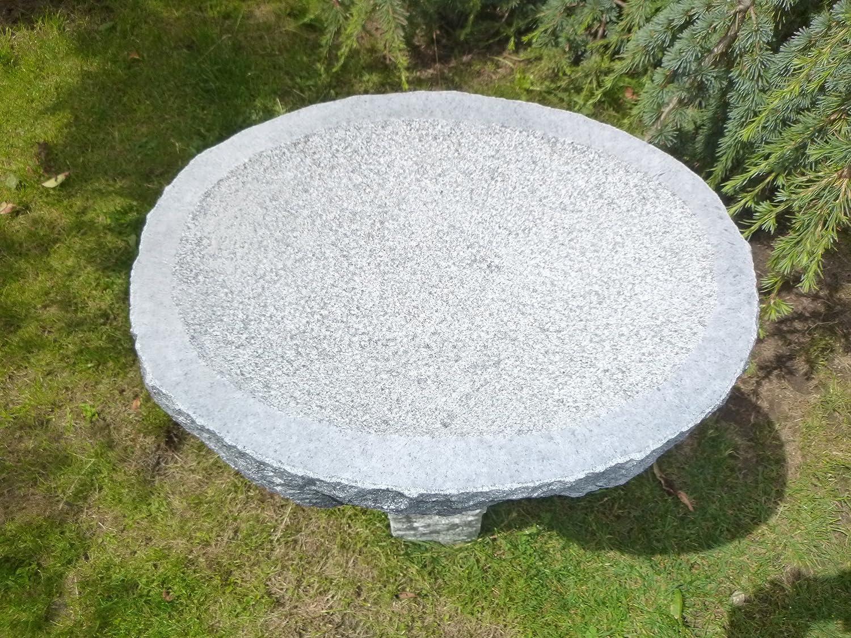 Vogeltränke aus Granit Nr. 28 | Vogelbad aus Naturstein | Unikat ...
