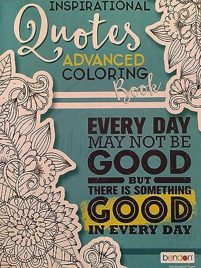 Amazon.com: Bendon Adult Coloring Book - Inspirational ...