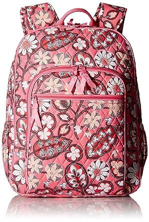 4d153876a Amazon.com: Women's Campus Tech Backpack, Signature Cotton, Blush ...