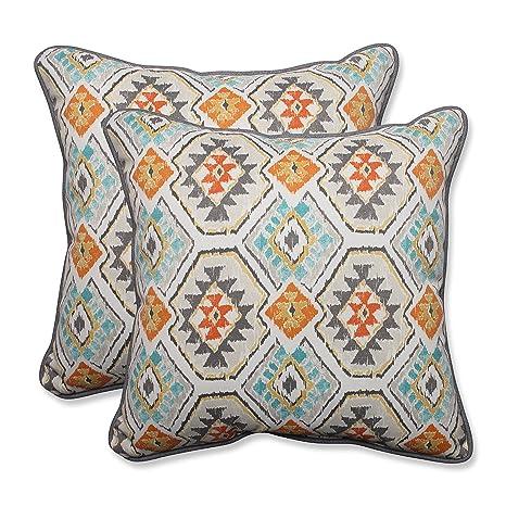 Amazon.com: Almohada/Interior eresha Oasis Throw Pillow ...