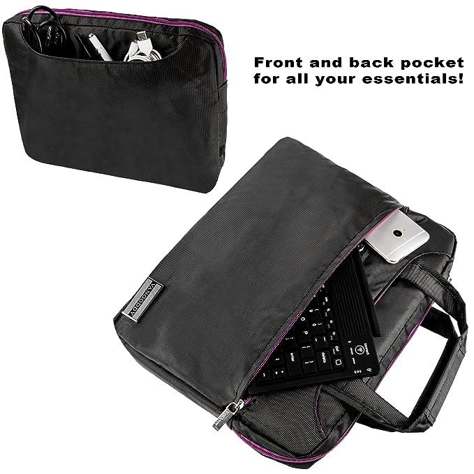 b5da5b4dcaf8 Amazon.com: Nylon Lightweight Messenger Bag For MSI Primo 81, 93 ...