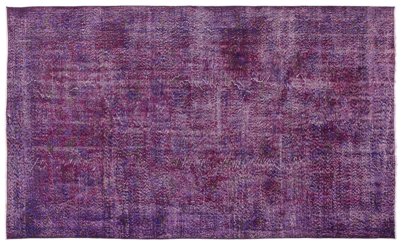 Bespoky ビンテージ 手織 ラグ 紫の ミディアムサイズ 167 X 281 Cm   B07HL137Z1