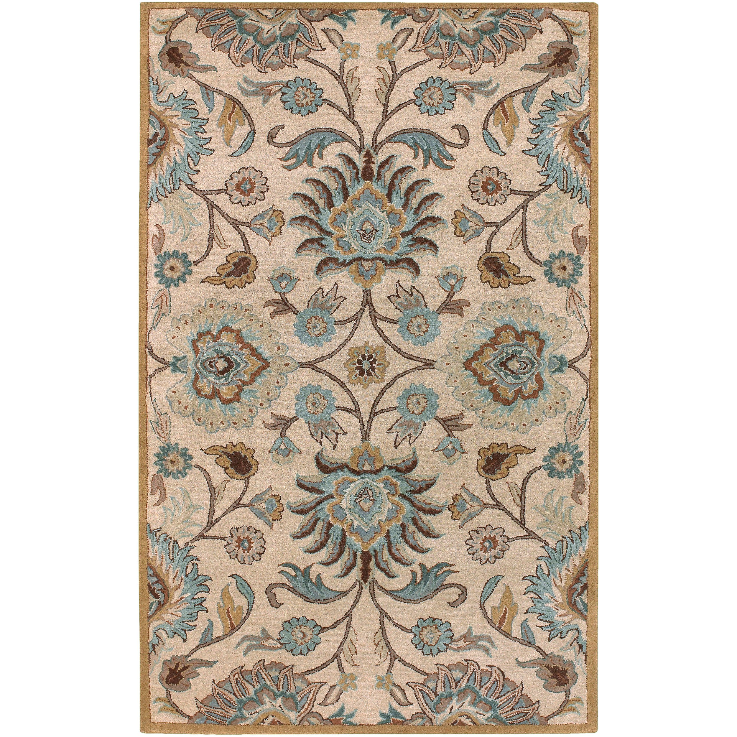 Surya Caesar CAE-1012 Classic Hand Tufted 100% Wool Doe Skin 2'6'' x 8' Traditional Runner