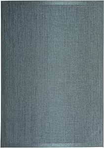 ALFOMBRA DE VINILO medida 120x180 cm GRIS modelo ALVIR